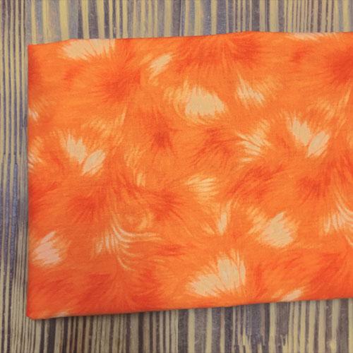 110cm / 면20수: 플라워 블룸(오렌지)_45222